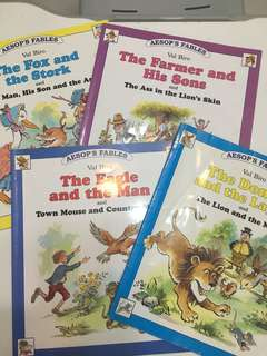 Aesop's Fables for kids.