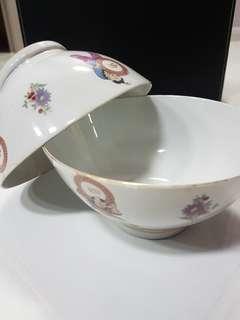 2 x Vintage Big Bowl