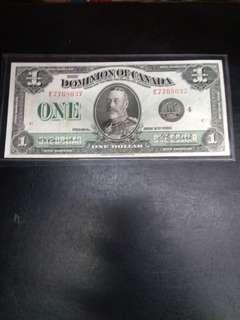 Dominion of Canada 1 dollar 1923 King George