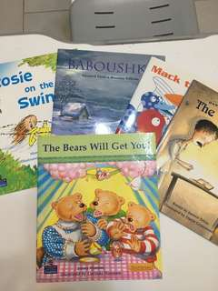 Children Story Books level 16-20 for ages 6-8