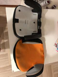 Children seat booster