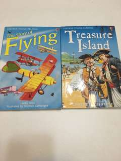 Treasure island / The Story of flying story books for kids