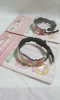 My Melody Two Silicon Bracelets