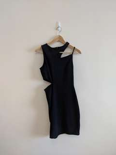 TOPSHOP Little black party dress