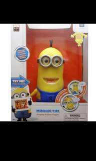 Despicable Me Minion Tim Interactive Talking Toy 20cm Tall