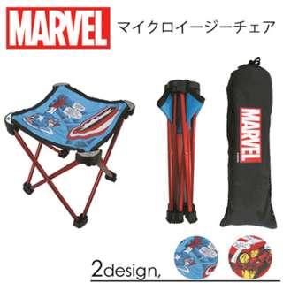 日本直送 正品 Marvel 耐用輕量 椅子 兩款