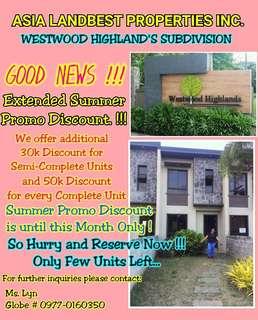 Westwood Highlands Subdivision