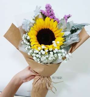 Graduation bouquet sunflower bouquet(last min orders still possible!!!)