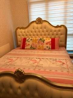 Victoria king bed frame
