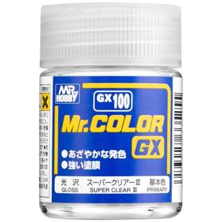 MR. COLOR GX 100 Super Clear III (Gloss)  18ml
