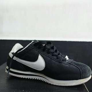 Nike Cortez Black Suede
