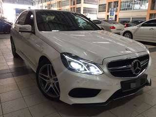 Mercedes Benz E300 Hybrid Turbo Diesel 2015 Local Spec Used Unit