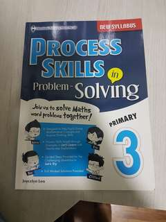 Primary 3 Process Skills in Problem solving