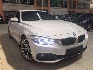 BMW 428i Gran Coupe Unreg 2015