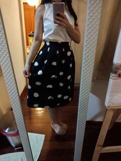 Brand New Floral Medi Skirt