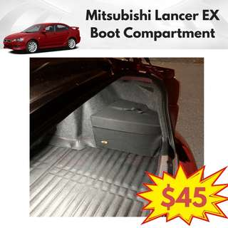 Mitsubishi Lancer EX Boot Compartment
