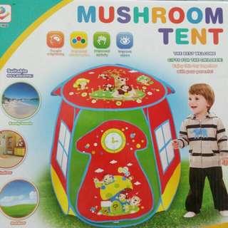 🚚 (可直接購買)兒童蘑菇帳蓬(奶粉贈品)