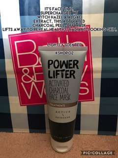 POWER LIFTERActivated Charcoal Face Mask 118ml