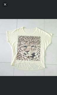 Oversize top (Leopard print)