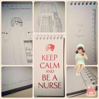 【護士】Nursing Notebook