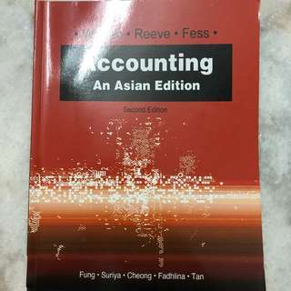 Accounting Textbook second edition