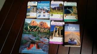 Travel books bundle
