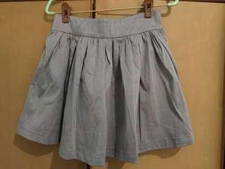 Used skort / grey / short / dress