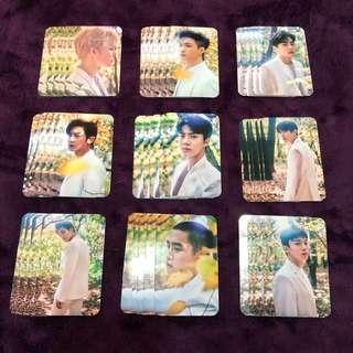 EXO elyxion photocards OT9