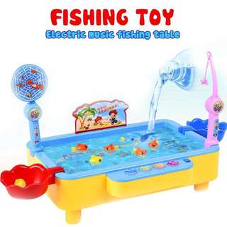 Brand new free delivery Electronic music fishing table perfect gift /
