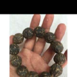 {FS138} 野生越南沉香手链 Wild Grade Vietnam Agarwood Bracelet 2