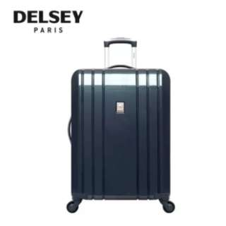 "Delsey Aircraft Trolley Hard Case 29"" (Purple/Blue/Silver)"