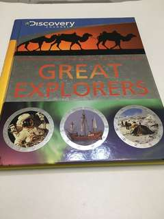 Discovery Channel - Great Explorers (hard cover)