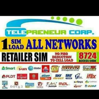 NEGOSYONG PATOK!! ELOADING BUSINESS 1 SIM LOAD TO ALLNETWORK