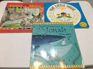 Assortment of books for kids age 7-9
