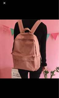 INSTOCK - Pink Canvas Backpack