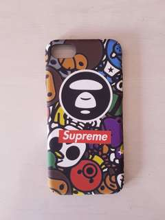 INSTOCK Supreme Aape IPhone 7/8 full cover case