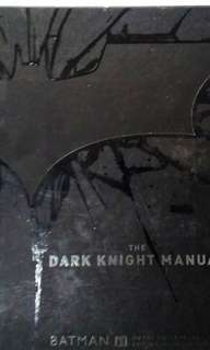 The Dark Knight Manual Batman pre-owned books magazines comic