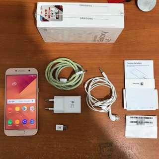 Samsung A5 2017 rosegold