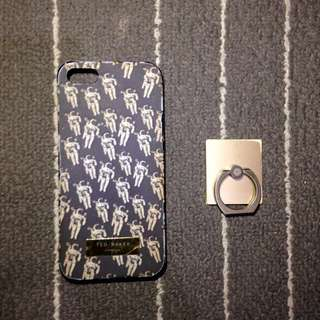 Case Iphone 5 Ted Baker , Pull & Bear (Free Iring)