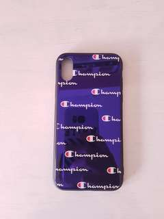 INSTOCK Champion Tempered Glass IPhone X full cover case