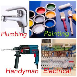 Electrical/plumbing & painting services 24 hours contact us at 91337203