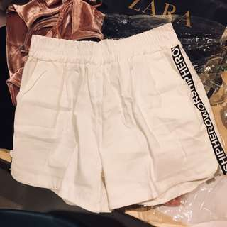 BKK shorts in white