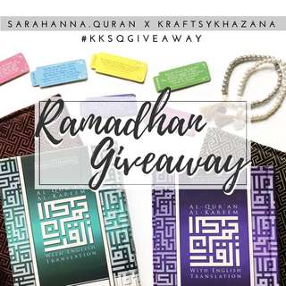 Ramadhan Giveaway!
