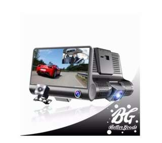 Dash cam video recorder rear view camera