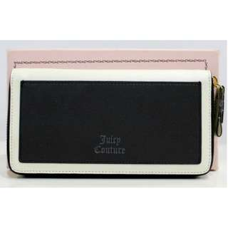 JUICY COUTURE LEATHER BLACK PURSE (CLEARANCE)