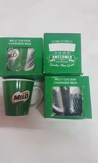 Milo colour changing mug