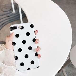 點點大方手機殼軟殼蘋果iPhone x/7plus/8/6S