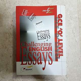 GCE 'O' Level Challenging English Essays