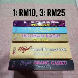 Novel Melayu Preloved Clearance Sale