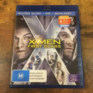X men first class blu ray